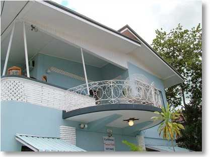 Upstairs View of Caribbean Tourist Villa